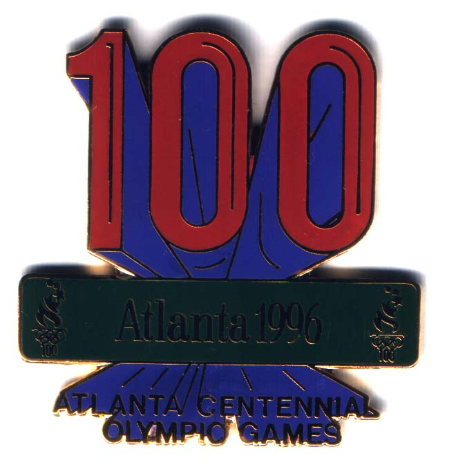 Atlanta 1996 Centennial olympic games 100